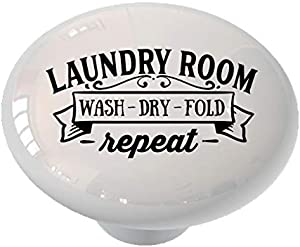 Laundry Repeat Drawer/Cabinet Knob by Gotham Decor