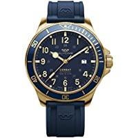 Glycine Combat Analog Automatic Men's Watch with Silicone Bracelet (GL0282)