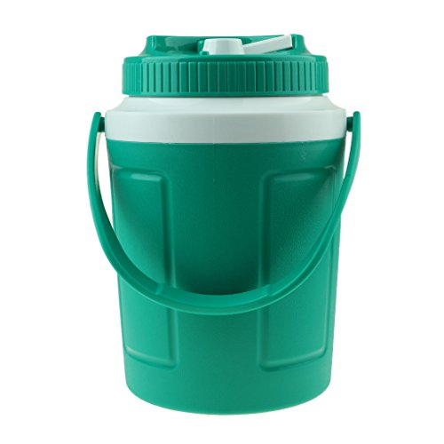 lahomia Ice Cube Bucket Champange Wine Party Bar Cooler BBQ Picnic Camping - Verde 5L