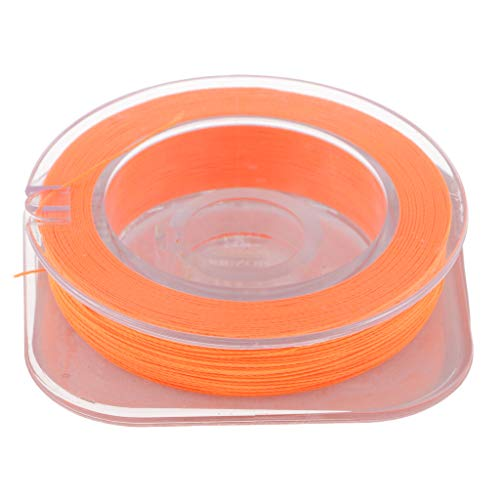 perfeclan Líneas De Envoltura del Anillo Guía De La Caña De Pescar, Hilo De Construcción De La Caña, 4 Colores Disponibles - Naranja