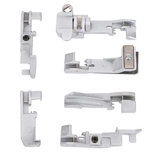 Juego de prensatelas multifunción para máquina de overlock de 6 uds. Para SINGER 14U 14CG754 14SH654
