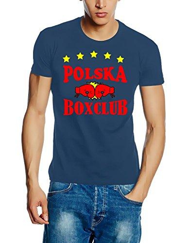 Polska Polen BOXCLUB T-Shirt stoneblue Gr.M