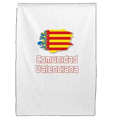 Tipolitografia Ghisleri Toalla de playa Valencia con bandera 64