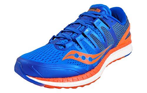 Saucony Liberty ISO, Scarpa da Corsa Uomo, Blu Arancio, 41 EU