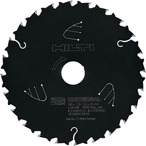 Hilti Hoja sierra circ. SCB WU 190x30 z24A, 2145815