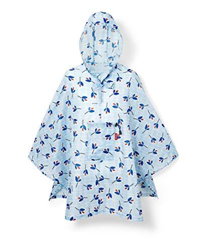 reisenthel mini maxi poncho 141 x 93 x 0 cm / leaves blue