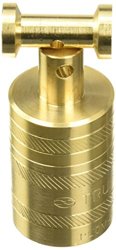 Truper PLOM-1L, Plomada de latón con centro, 336 g