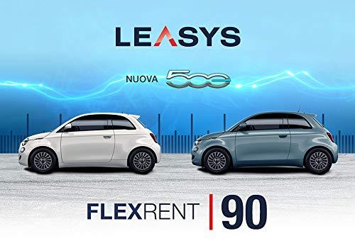 Pass offerta Leasys FlexRent 90. Noleggio auto di durata 90 giorni rinnovabili da oggi anche con Nuova Fiat 500 elettrica e Compass e Renegade PHEV