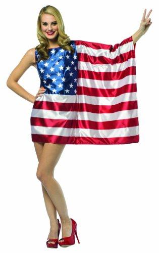Rasta Imposta Flag USA Kleid - Mehrfarbig -