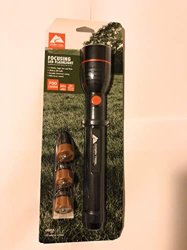 Ozark Trail Focusing Handheld LED Flashlight, Super Bright...