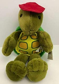 Cory Turtle Suzys Zoo Plush Stuffed Animal Green Red Hat Starshine Vintage 1988