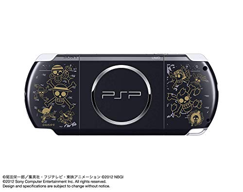 Sony PSP Slim 3000 Series Handheld Gaming Console with 2 Batteries (Renewed) (One Piece)