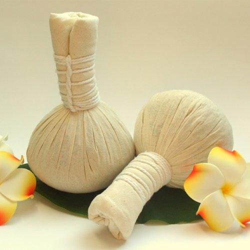 erbe timbro per massaggi tradizionali con thailaendischen fiori di lavanda 200G Pro pezzi Thai Massage Erbe Ball