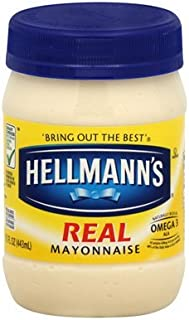 Hellmann's, Real Mayonnaise, 15-Ounce Jar (Pack of 2)