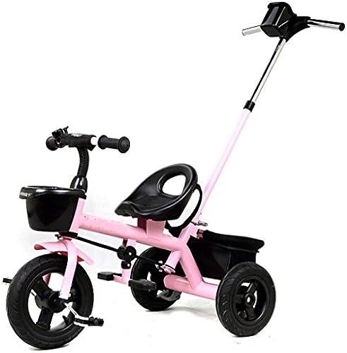 QWM-Baby Kinderfürr r Multifunktionale Kinder Tricycle Kinderwagen Kinderfürrad Removable Pusher Kindergeschenk-QWM