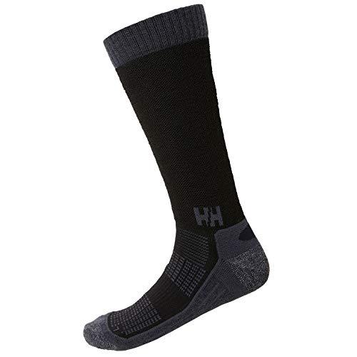 Helly Hansen Herren Ascent Hiker Socken, Black, 45-47