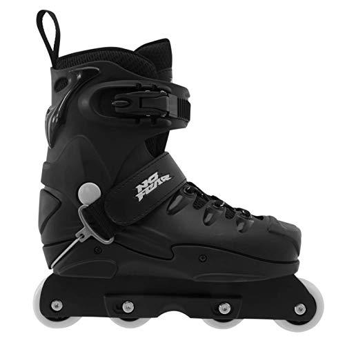 No Fear Mens Aggressive Skates Black UK 5