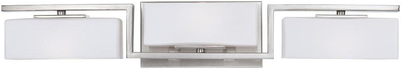 Designers Fountain 6713-SP Meridian 3 Light Bath Bar