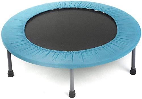 Con encimeras de salto/alimentación de alta calidad, pies móviles, trampolín fitness,Blue