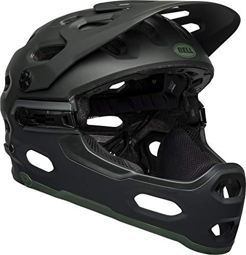 Bell Unisex's Super 3R MIPS Helmet, Solid Matt Green, M 55-59CM