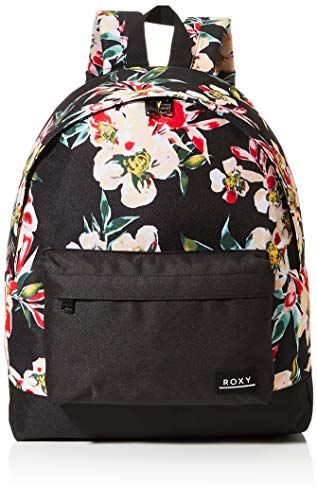 Roxy Womens BE YOUNG Backpack, ANTHRACITE WONDER GARDEN S, Medium