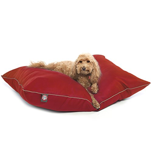 Majestic Pet 28-Inch by 35-Inch Super Value Pet Bed Medium, Red