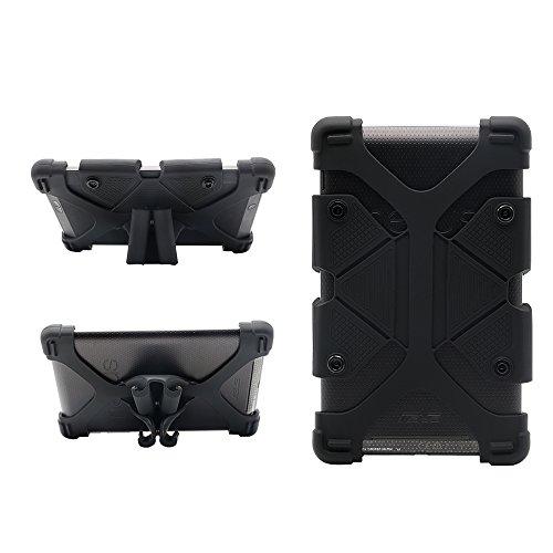 """Custodia per tablet da 7 pollici universale Custodia da viaggio per silicone antiurto con supporto per RCA 7 """"Voyager II / Amazon Kindle Fire 7 / Google Nexus 7 / Samsung Galaxy Tab 4, scheda 3 Lite"""