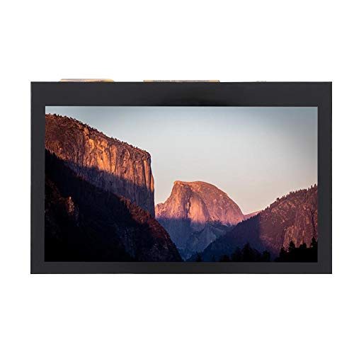 CHICIRIS Pantalla táctil capacitiva, Pantalla táctil LCD de 4.3 Pulgadas, Universal para 3B + 2B + 4B IPS para Raspberry Pi