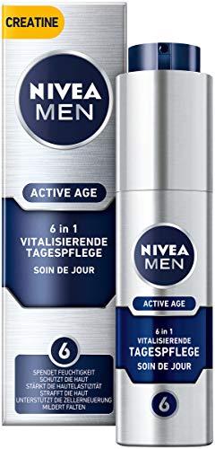 NIVEA MEN Active Age Vitalisierende Tagespflege im 1er Pack (1 x 50 ml), straffende Gesichtscreme...