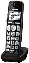 Panasonic KXTGEA20B Digital Cordless Handset for TGE210/230/240/260/270 series, Black (Renewed)
