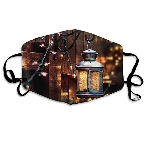 Homect Bokeh Lichter Lampe Zaun Unisex Vollabdeckung Gesichtsmaske Bandanas UV-Schutz Hals Gaiter Stirnband