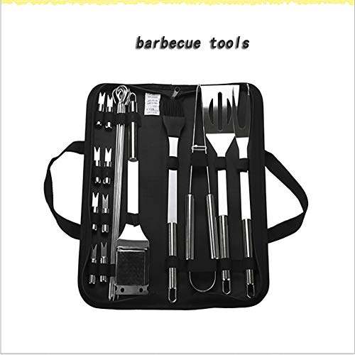 Best Price AKL BBQ Grill Tool Set, Home-Complete Grilling Barbecue Tool Set Stainless Steel Barbecue...