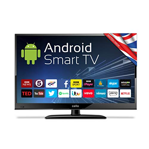 """Cello C24ANSMT 24"""" Android Smart LED 12v/24v/240v TV with Wi-Fi and HD..."""
