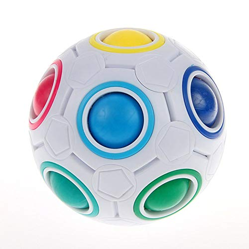 RENFEIYUAN Rainbow MA Ball Creative MA Rolling Ball Rubik Cubo
