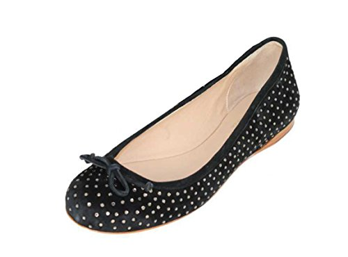 Twin-Set Simona Barberi Schuhe Shoe Slipper Ballerinas CPS5EN schwarz Gr.39
