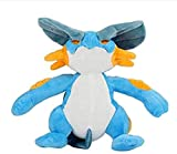 N/D Anime Pets Plush Toy Gliscor Pangoro Buzzwole Guzzlord Swampert Lucario Dodrio Hoothoot Ariados Armaldo Soft Stuffed Dolls 28Cm