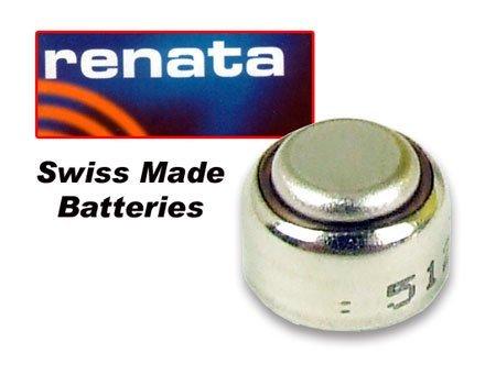 Renata 393 Knopfzelle für Uhren, 3 Stück