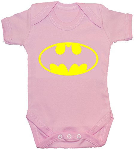 Acce Products Body bébé Bat/Barboteuse/Gilet/T-Shirt - 0-3 Mois - Rose