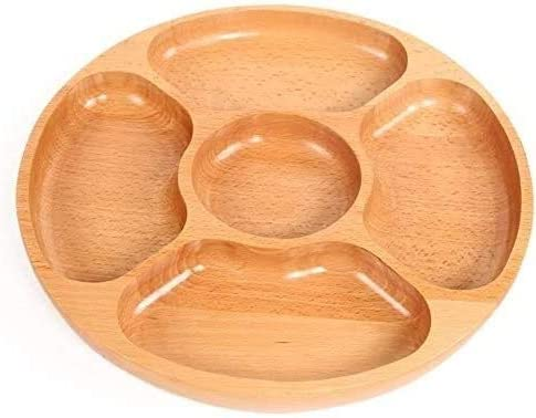 Fruit Basket Solid Wood Round Fort Worth Mall Stand Ho Storage Overseas parallel import regular item Plate Bread