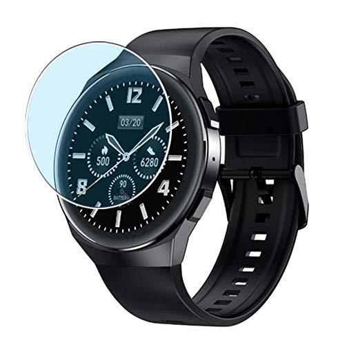 Vaxson 3 Stück Anti Blaulicht Schutzfolie, kompatibel mit AllCall Active Smartwatch smartwatch, Displayschutzfolie Anti Blue Light [nicht Panzerglas]