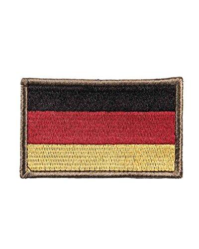 BKL1® BW Nationalitätsabzeichen Textil Klett Bundeswehr Ärmel Patch Cap Abzeichen 5,5x8,5cm 1364