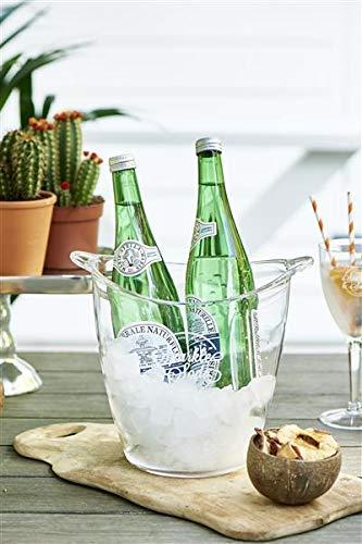Rivièra Maison Sparkle and Soda Wine Cooler/Sektkühler Kunststoff, Plexiglas
