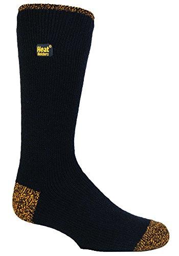 HEAT HOLDERS - Thermiques hiver chaudes chaussettes de travail hommes (39-45 eur) Heel & Toe