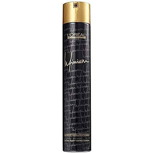 LOréal Paris (public) Infinium laca para el cabello Mujeres 500 ml - Lacas para el cabello (Mujeres, Todo el pelo, 500 ml, Fijación, Brillo, 1 pieza(s))
