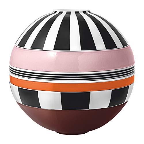 Villeroy & Boch Iconic La Boule MemphisVajilla, diseño de vajilla con superficie adecuada, apto para lavavajillas, porcelana, Multicolor (Memphis)