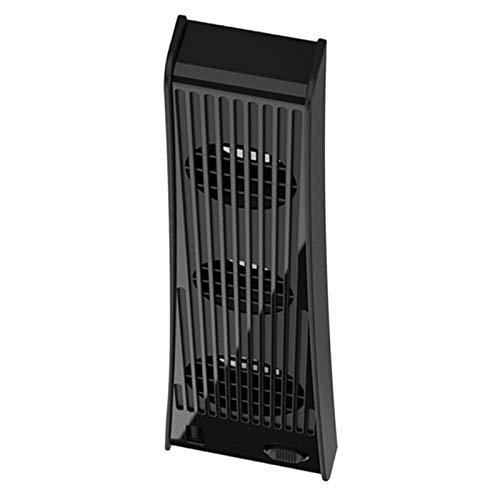 B Blesiya Nueva versión 3-FanHost Ventilador de refrigeración para PS5 versión de Unidad óptica edición Digital - Negro