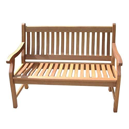 New Jersey Gartenbank 2-Sitzer / Sitzbank / Holzbank / Eukalyptus - natur