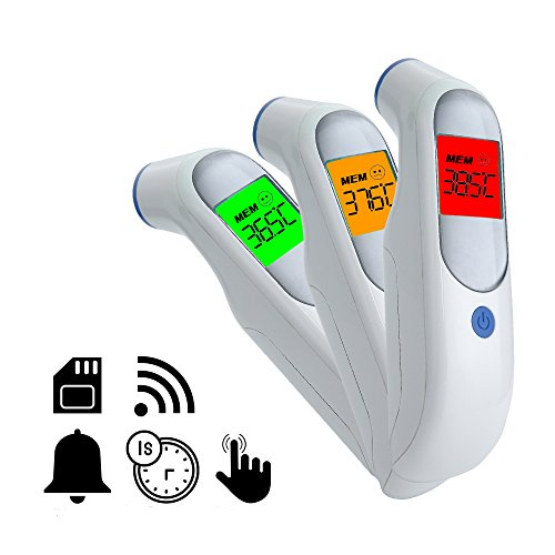 Hermano Digital Forehead Thermometer, Infrared Medical Thermometer...