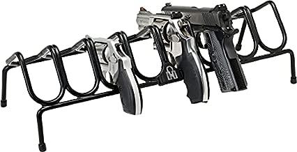 Hornady Pistol Rack for Gun Safe, Holds 8 Handguns – Gun Stand for Handgun Storage and Organization, For Pistols and Revolvers – Scratch-Resistant with Non-Slip Feet – Maximize Gun Safe Space