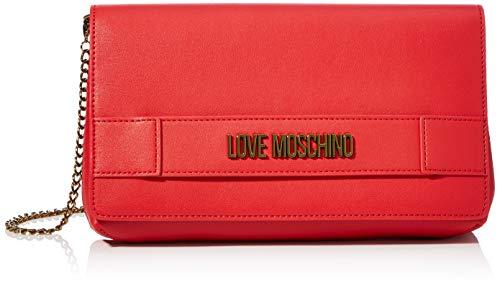 Love Moschino Jc4264pp0a, Pochette da Giorno Donna, Rosso (Red), 6x16x26 cm (W x H x L)